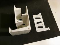 Printed model. This comes in two parts that need to be assembled by simply clicking them together.