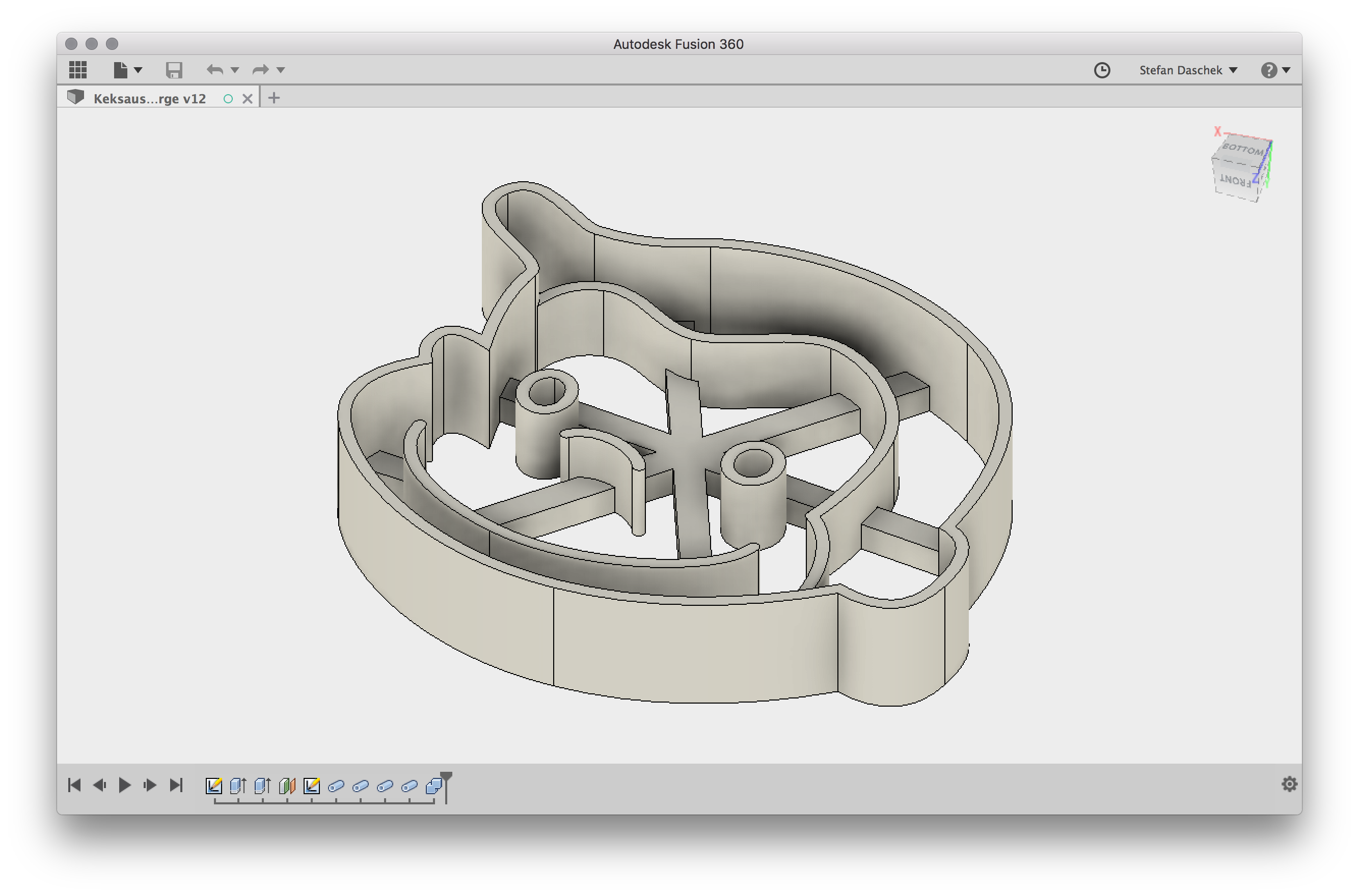 Cookie Cutters from the 3D Printer /// noniq at